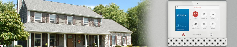 Honeywell Lyric Alarm Panel in New Jersey Home
