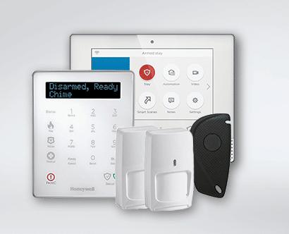 Honeywell Lyric Smart Alarm Panel with Keypad and Sensors