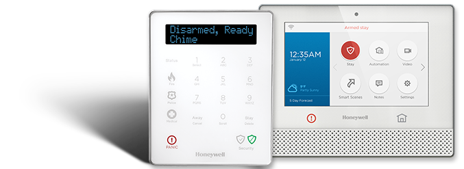 NJ Honeywell Alarm Panel and Keypad Install