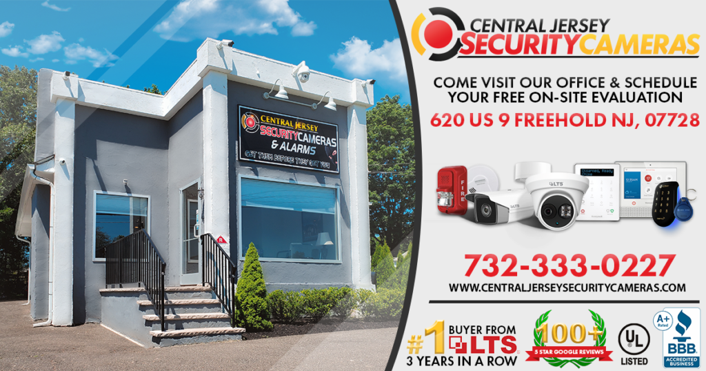Freehold NJ Small Business Security Cameras and Alarms