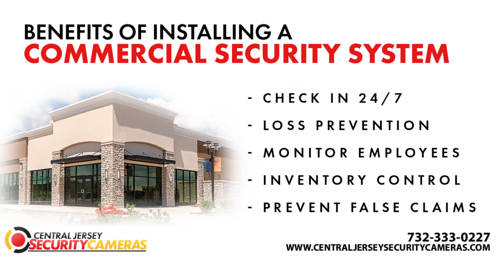 Commercial Security System Installation NJ