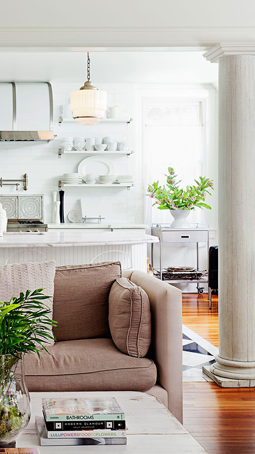 Safe Home Interior Living Room