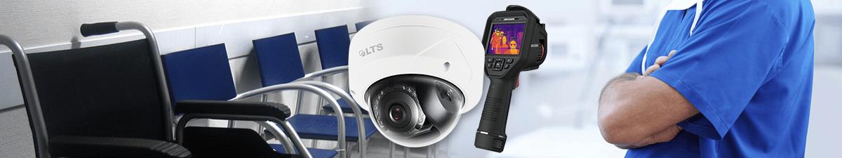 CCTV Security Camera in NJ Hospital