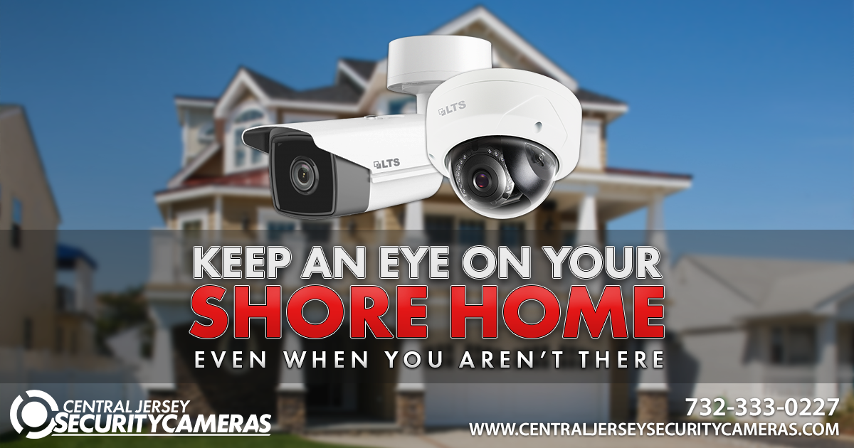 Security Cameras Installed on Jersey Shore Home